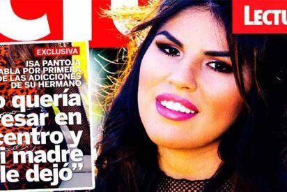 """Isa Pantoja: """"Kiko quería ingresar en un centro de desintoxicación y mi madre no le dejó"""""""