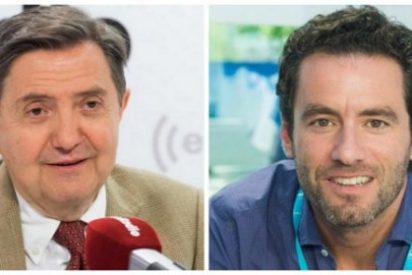 """Losantos sacude a Borja Sémper por sus palos a Vox: """"El sitio de esta excrecencia es 'Sálvame'"""""""