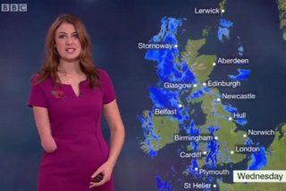 Lucy Martin, la bella presentadora sin una mano que triunfa en la BBC