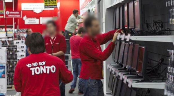 """Los trabajadores de Mediamarkt, en pie de guerra: """"Somos observados con cámaras, esto es una caza de brujas"""""""