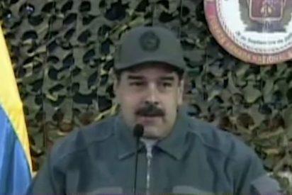 """Maduro: """"Hay militares desertores que conspiran desde Colombia"""""""