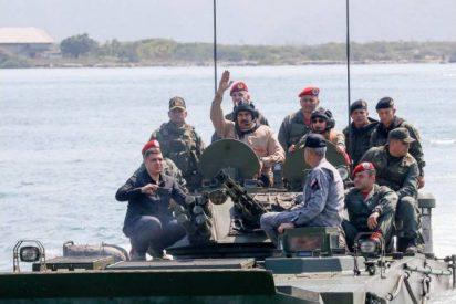 El dictador Maduro pone a prueba su capacidad militar