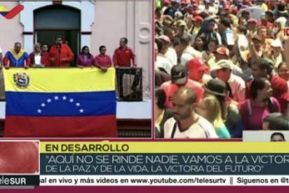 """La maquinaria de propaganda de Maduro sale en tromba a defender al dictador: """"La derecha desea la guerra"""""""