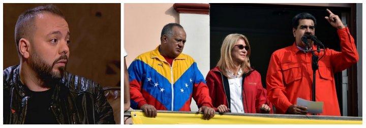 El escocido Antonio Maestre se lleva una buena tunda por rajar sobre la revuelta contra Maduro