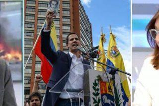 Ana Rosa le mete una colleja al tibio Manuel Rico para que no le quede ninguna duda de quién es el presidente en Venezuela