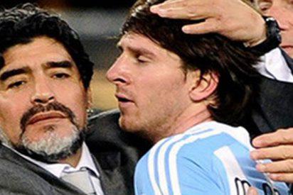 """Maradona sobre Messi: """"Lo quiero, pero no va a ser líder"""""""