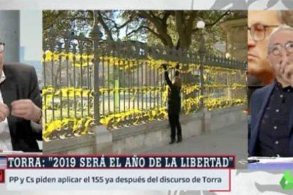 Sardá es el palmero número uno de Sánchez y Marhuenda le lanza a la cara las miserias de su divo con el independentismo