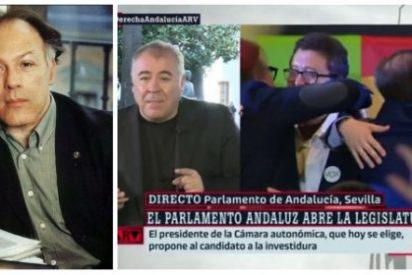 """Soberbio palo de Javier Marías a Ferreras y otros 'sextarios' por machacar a su audiencia con Vox: """"¿Son idiotas en laSexta?"""""""