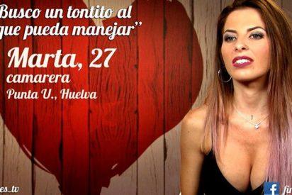 """'First Dates': Marta quería un """"tontito"""" y acabó así…"""