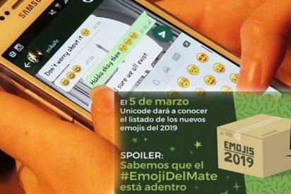 """""""Los argentinos muy felices"""": WhatsApp incorpora el emoji del mate a partir del 5 de marzo de 2019"""