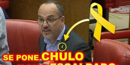 Así revienta Girauta en 30 segundos los 'collons' del 'pedecato' Campuzano y castra al separatismo