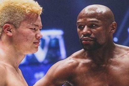 """El luchador japonés noqueado por Mayweather tras su humillante derrota: """"Lo subestimé"""""""