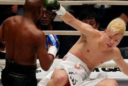 9 millones dólares en dos minutos: Mayweather noquea a su rival en MMA
