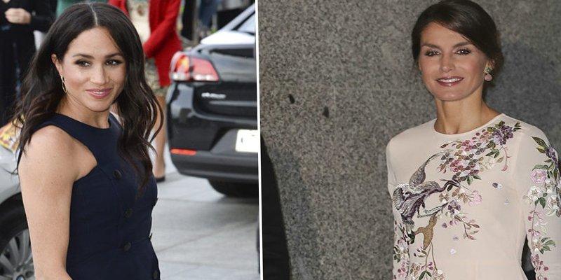 ¿Quién se ha gastado más en moda, Meghan Markle o la reina Letizia?