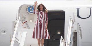 Incoherencia: Melania usa avión presidencial, mientras Trump tiene que cancelar el viaje de Pelosi