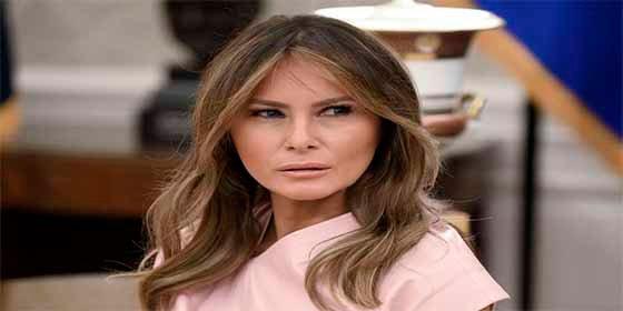 Melania Trump se entrega a la moda de los leggins, al mejor estilo de Jennifer López