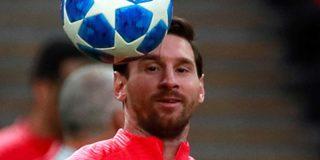 Messi deja a todos con la boca abierta con este loco gol en un entrenamiento del Barcelona