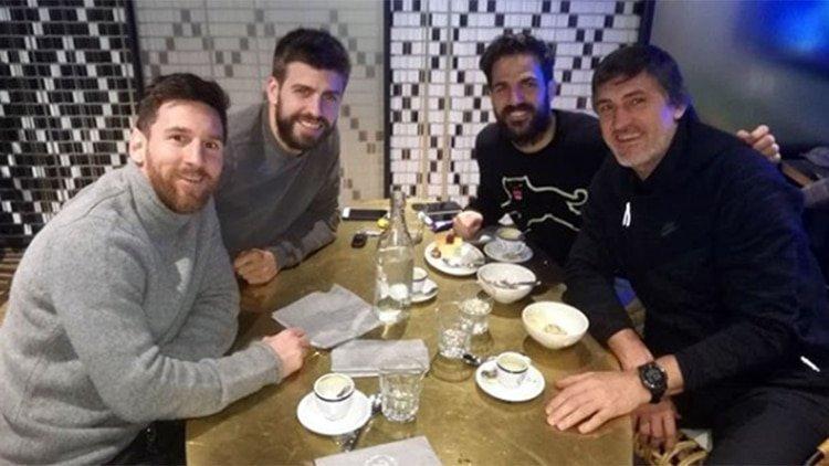 Lionel Messi y Gerard Piqué buscan reflotar al Andorra FC