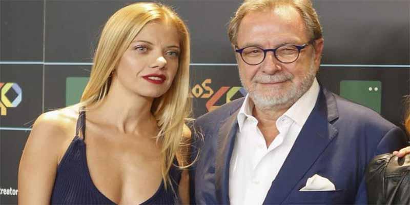 Juan Luis Cebrián se pone cursi y se va a la prensa rosa a contar su amor con la rumana Mihaela Mihalcia