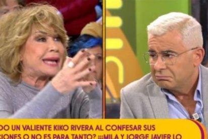 La madre de todas las broncas entre Jorge Javier Vázquez y Mila Ximénez: ¿Quién de los dos es más hipócrita?