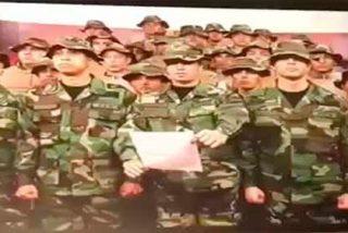 Militares venezolanos desde Perú desconocieron al dictador Nocolás Maduro