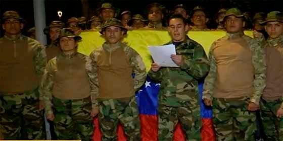 """Militares venezolanos exiliados en Colombia apoyan la lucha contra Maduro: """"No podemos permanecer pasivos"""""""