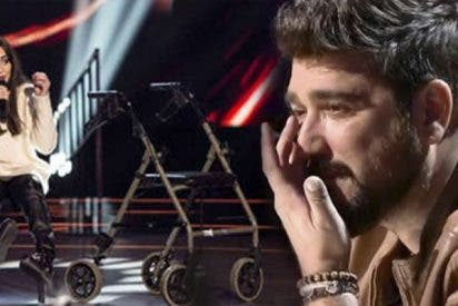 Antonio Orozco se emociona con la superación de Miriam Fernández