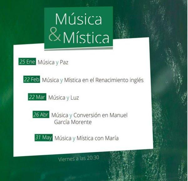 Ciclo Música & Mística: Música y Paz