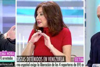 Escuchar a Monedero le provocará el vómito: así defiende al chavismo en Telecinco y Ana Rosa e Inda le apalean