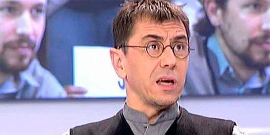 """Monedero fue a Colombia a dar lecciones, lo pillaron en Twitter y lo menos que le dijeron fue """"mercenario"""" y """"escoria"""""""