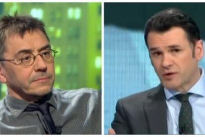 La entrevista-masaje de Iñaki López y sus mariachis a Juan Carlos Monedero: ni una pregunta sobre Venezuela