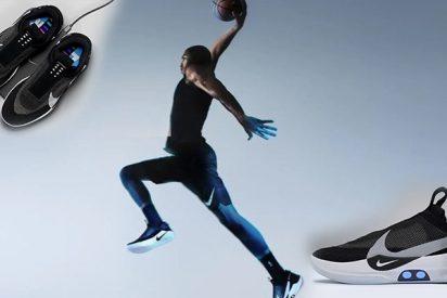 Así son las nuevas y flipantes zapatillas de Nike que se atan solas