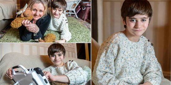 Los médicos quedaron atónitos al ver a un niño que tiene su riñón en la pierna