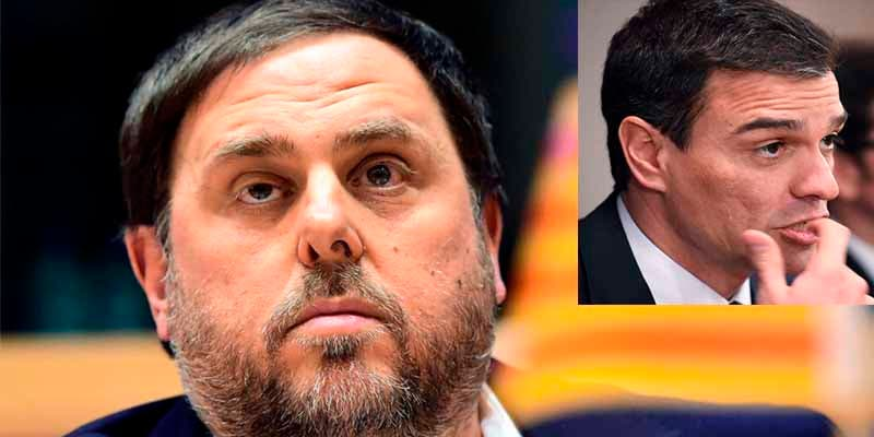 """El golpista Junqueras deja al socialista Sánchez como un felpudo: """"Le prefiero a él, espero una oferta"""""""
