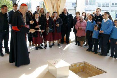 Colocan en Madrid la primera piedra de la nueva sede del colegio diocesano María Inmaculada
