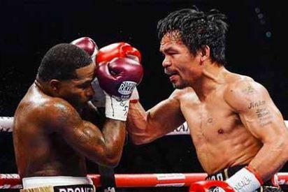Manny Pacquiao (40) vence a Adrien Broner y retiene el título de campeón mundial