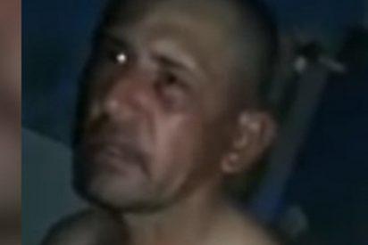 Presos pegan e insultan a este violador asesino de una niña mientras lo graban