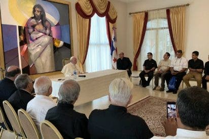 """Francisco mantiene un diálogo """"fraterno"""" con jesuitas de Centroamérica"""