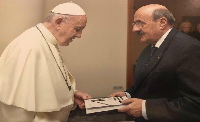 El Papa recibe al presidente de UCIPE, Rafael Ortega