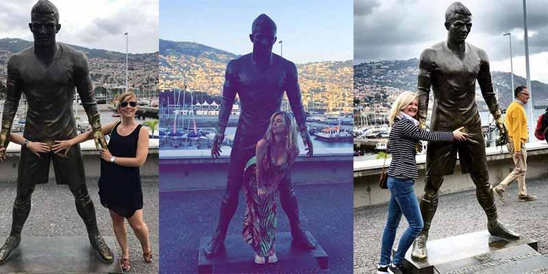 Cristiano Ronaldo: El 'paquete metálico' de CR7 se convierte en reclamo turístico para Madeira