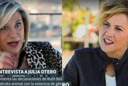 Julia Otero critica que la tele no le ofrezca trabajo y acto seguido le mete un palo velado a laSexta por fichar mujeres jóvenes y guapas