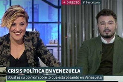 Cristina Pardo le coloca un zasca tan brillante a Rufián que al de ERC solo le queda hacer como que no le ha oído