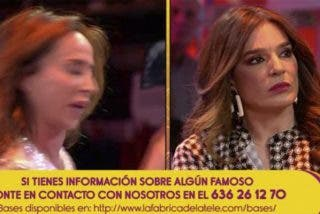 María Patiño abandona el plató de 'Sálvame' entre lágrimas