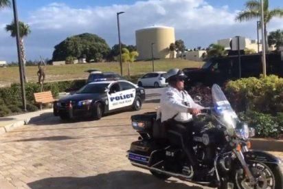 Un policía de Florida atropella a una pareja que observaba el eclipse lunar