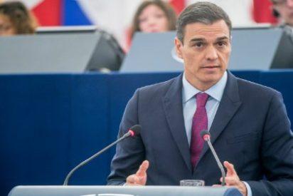 El medio minuto que hunde al 'antinacionalista' Sánchez en las cloacas del descrédito europeo