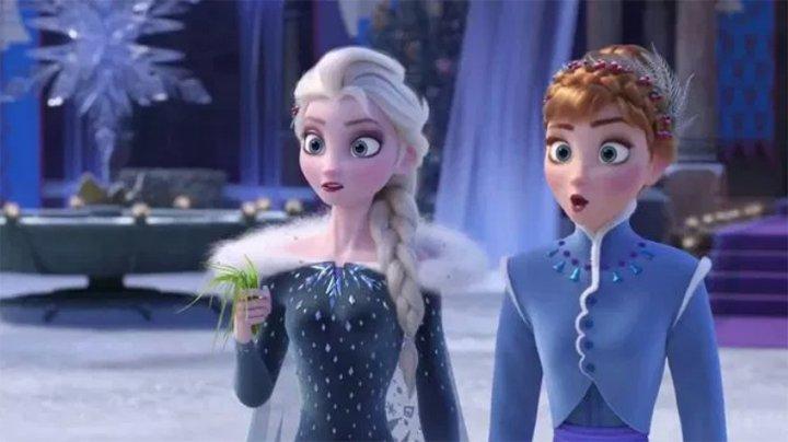 Polémica: Filtran una imagen de Elsa casándose con otra chica en Frozen 2