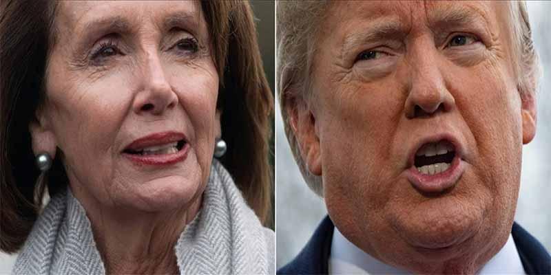 """Donald Trump cuestionó a Nancy Pelosi por calificar de """"inmorales"""" los muros"""