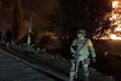 Estas son las primeras imágenes del antes y después de la mortal explosión de un ducto de Pemex en Hidalgo