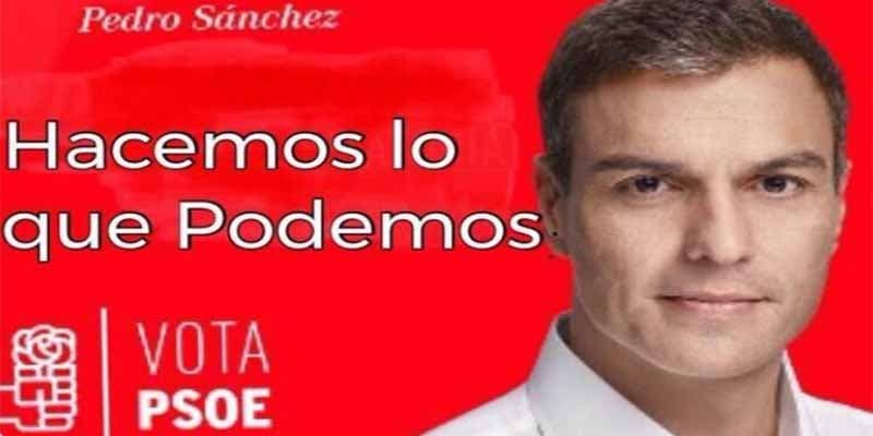 Encuestas del CIS: El 'okupa' Sánchez con Tezanos en el 'Pais de las Maravillas'