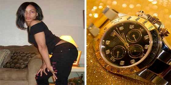 La mujer que robó una colección de Rolex a su cita y la policía se los descubrió por la fuerza en un lugar muy íntimo
